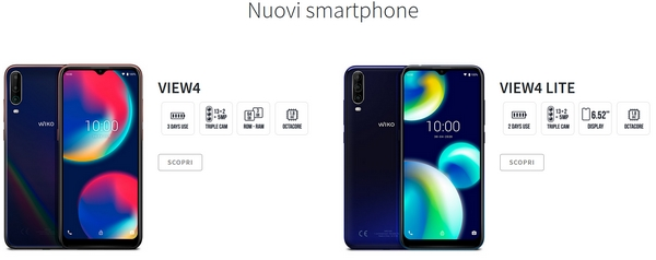wiko view4 collection