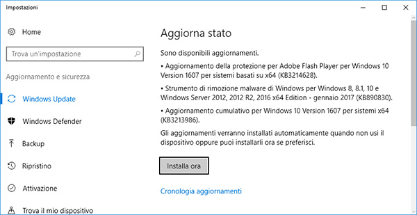 Privacy sotto controllo con il Creators Update di Windows 10