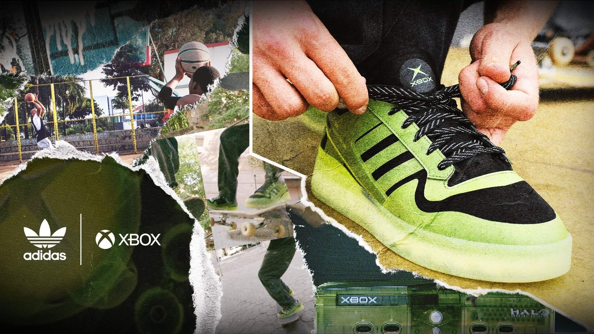 xbox sneaker adidas