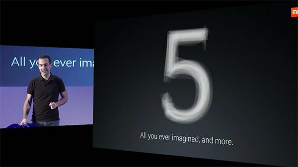 Xiaomi Mi5, Hugo Barra